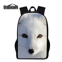 Buy Cool Fox Printed School Backpacks Children Girls Cute Animal Bookbags Schoolbags Bagpack Boys Mochilas Coolest Back Pack for $19.97 in AliExpress store