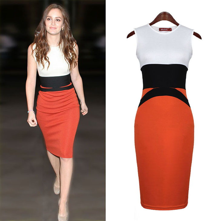 office dress kleider woman clothes ladies dress female clothing