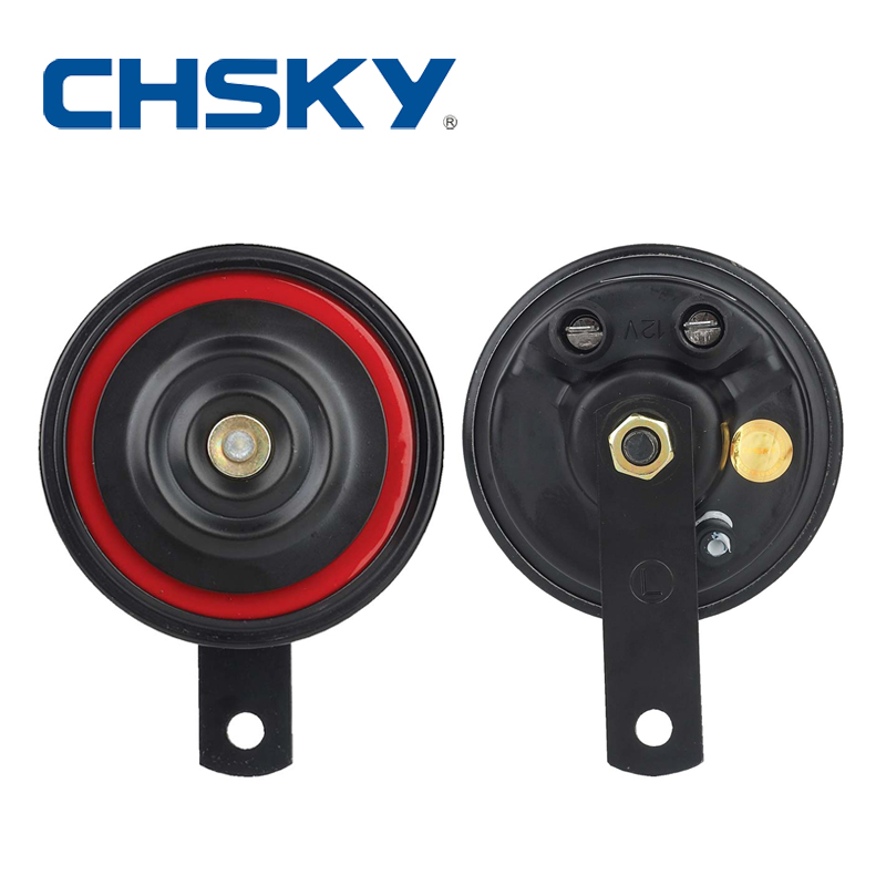 1 pair seger type 90mm 110db disc car horn loud high quality 12V horn long life time(China (Mainland))
