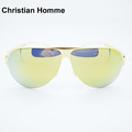 Hot Sale New 2017 Christian Homme Brand Sunglasses FRANZ Top Quality Men Sunglasses Case Fashion Women
