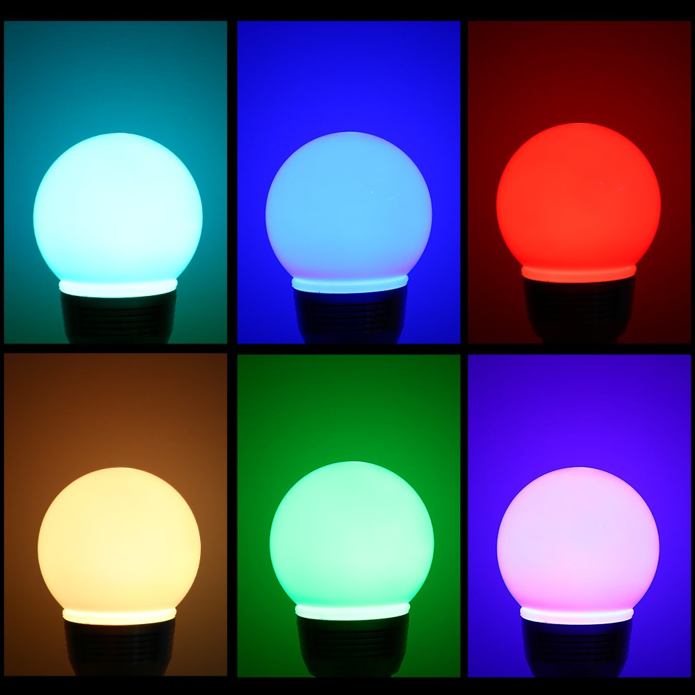 1pcs 3W 5W E27 LED RGB Bulb lamp 6/16 Colors Spot light Changing Dimmable Magic Holiday Lighting IR Remote Control(China (Mainland))