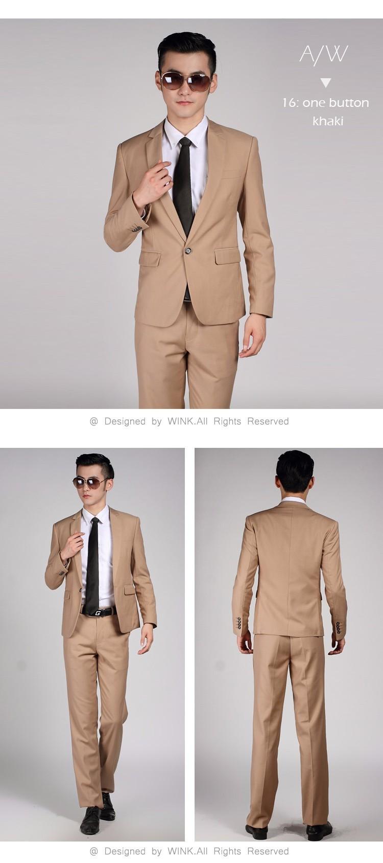 HTB1kp 2LVXXXXaJXFXXq6xXFXXXS - (Jacket+Pant+Tie) Men Wedding Suit Sets Tuxedo Formal Fashion Slim Fit Business Dress Suits Blazer Brand Party Masculino Suits