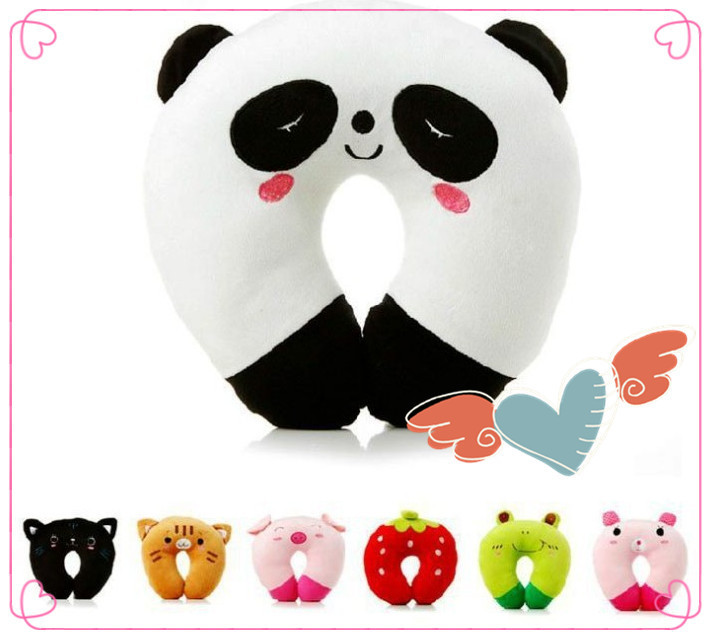 3pcs New Free shipping cute U Pillow Care neck Office Pillow Cute carton Noon break Travel ...