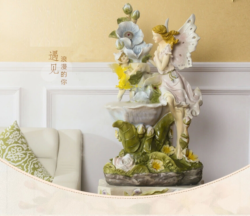Water Fountain Feng Shui Ornaments Creative Home