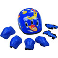 7 Pcs Set Skate Protective Gear Skating Roller Skates Protective Gear Bicycle Helmet For Kids
