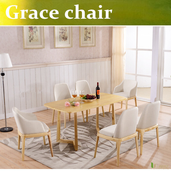 U-BEST Modern warehouse Poliform Grace chair wood chairs elegant master design furniture lounge chair(China (Mainland))