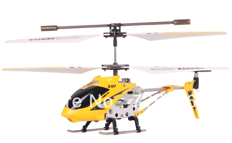 Super Deal S107 S107G Gyro Electric 3.5CH Metal Infrared Remote Control Mini RC Helicopter Heli Copter RTF 3CH Child Toys(China (Mainland))