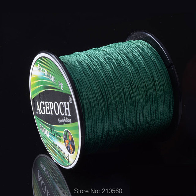 Agepoch 500 m Braided Multifilament Super Power Pe Fishing Line Rope The Peche Spearfishing Cord Wire Peche Carp Winter Thread 8