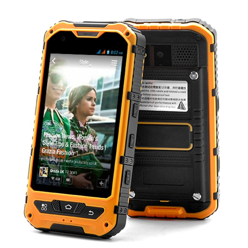 Original Mobile Phone MTK6572 Dual Core Android 4.4 New A8 1GB RAM IP68 rugged Waterproof cell phone shockproof 3G GPS A9 V9H v9(China (Mainland))