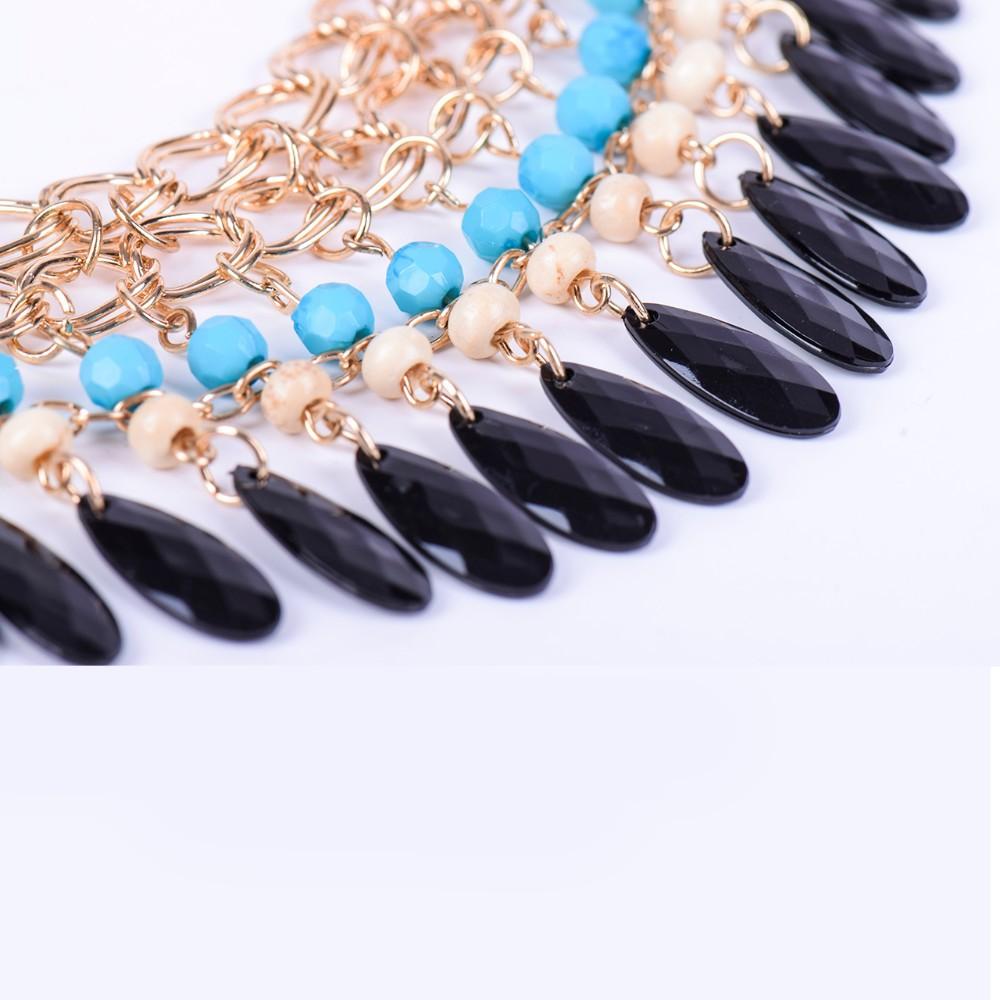 * 2015 рождественский подарок кисти падения винтаж биб себе ожерелье мода ювелирных изделий бесплатная доставка