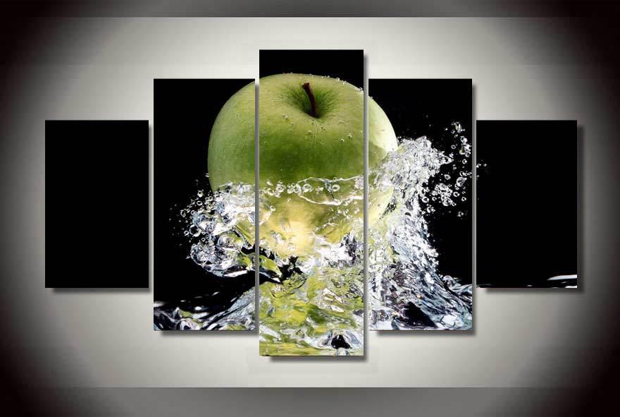 Keuken Decoratie Appel : Online kopen Wholesale green apple schilderijen uit China green apple