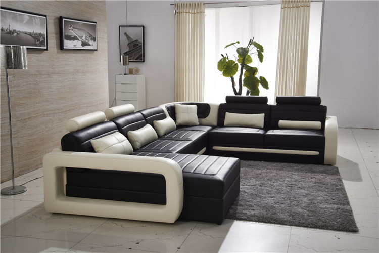 High quality luxury leather sofa sofa leather for Where to buy good quality sofa