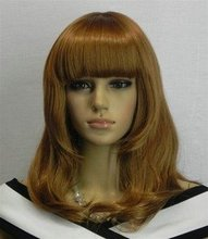 2012 Belle wig sexy short curly female mixed color wig+cap(China (Mainland))