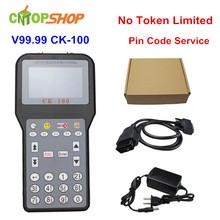 Chaude CK100 Auto Key Maker CK 100 V99.99 CK100 Programmeur principal CK-100 Ajouter Pin Code Service Non Jetons Limitation(China (Mainland))