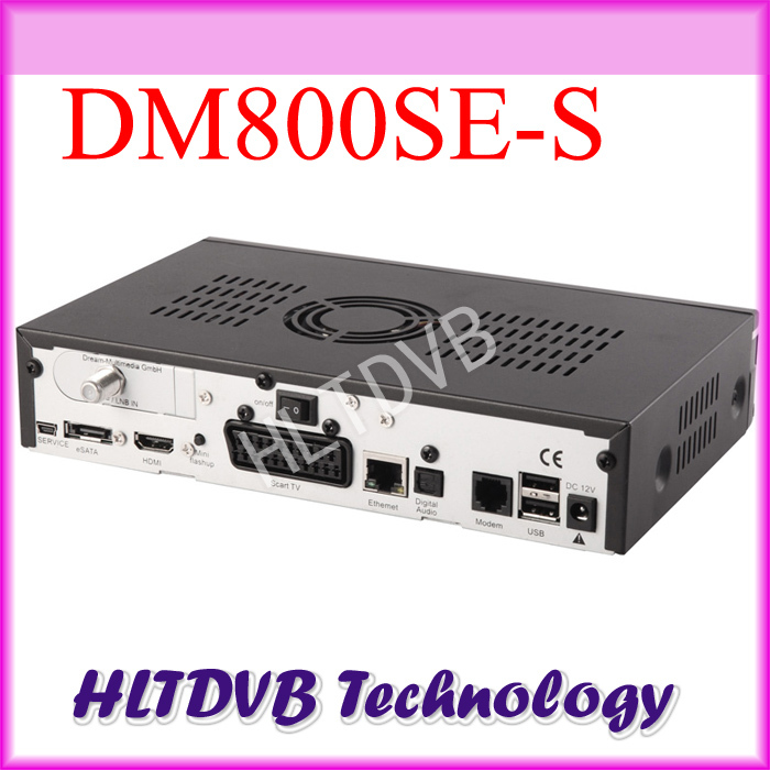 2pc/lot dm800 hd se Satellite TV Receiver dvb-s2 BCM4505 Tuner Sim 2.10 dm 800se CPU 400MHZ Processor DHL free shipping(China (Mainland))