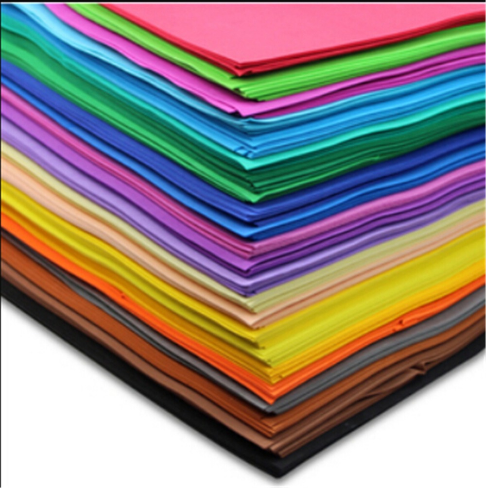 20pcs lot 50 50 cm 1mm thick craft paper collage for How to cut thick craft foam