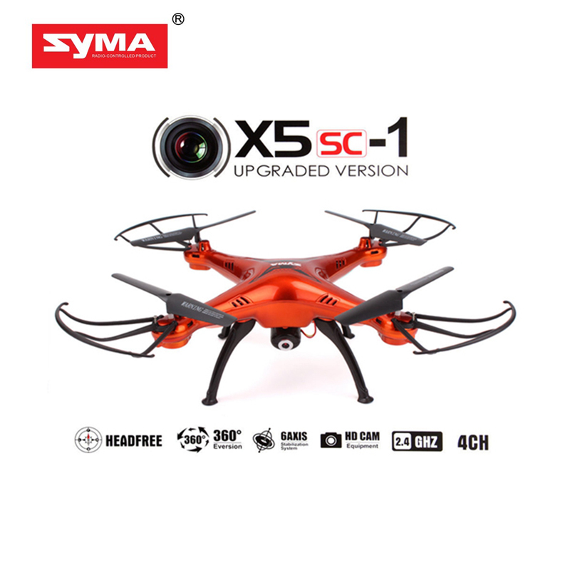 Syma X5SC New Version X5SC-1 Camera Drone with 2.0MP HD Camera 4CH 6 Axis rc helicopter 360 Degree Eversion quadcopter(China (Mainland))