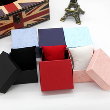40pcs/lot Factory Wholesale Watch Boxes With Pillow Watch Gift Box Packaging WristWatch Jewelry Gift Box Watches case