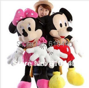 Stuffed Animals & Plush 70cm Mickey Mouse Minnie plush toys Christmas gift the birthday gift home decoration Wholesale & retail