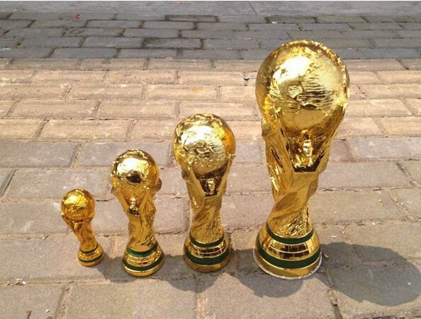 Name: world cup material: advanced resin, and seiko electroplating, do not fade size: s: height of about 13cm m