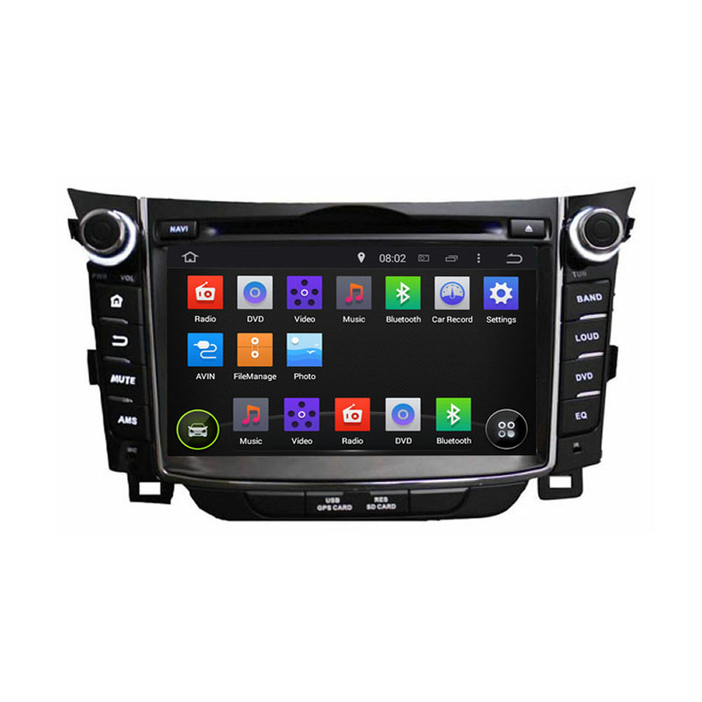 1024*600 Quad Core ROM 16G Android 5.1.1 Fit Hyundai i30 2012 2013 2014 2015 Car DVD Player Navigation GPS Radio(China (Mainland))