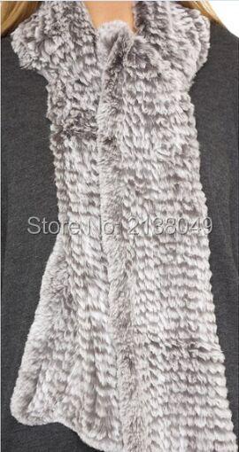 Fs004 170 * 15 см женщин мода длинный шарф кролика вязаные шарфы