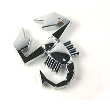 3D 3M Car Metal Adhesive Badge Emblem logo Decal Sticker scorpion Fiat Abarth 124/125/125/500 - Li store
