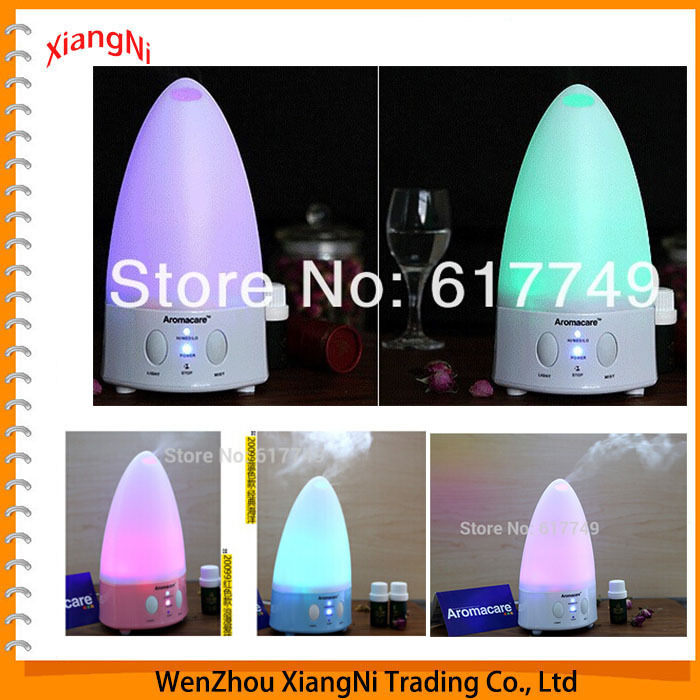 NEW 2015 Mini Rainbow LED Color Changing Ultrasonic Aroma Air Humidifier Purifier Diffuser For Home Office Car Free Shipping(China (Mainland))
