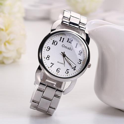2014 New Luxury Brand Women Dress Watch Relojes Stainless Steel Quartz  Watches Relojes De Marca LadiesMetal Wristwatches Men<br><br>Aliexpress