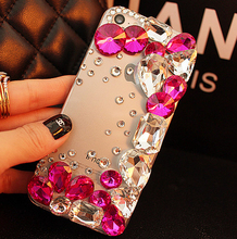 Luxury Bling shining Crystal Rhinestone Diamond Case Huawei P8 lite 2017 Honor 8 Lite oneplus 3 nokia 6 - Serena Mao's store