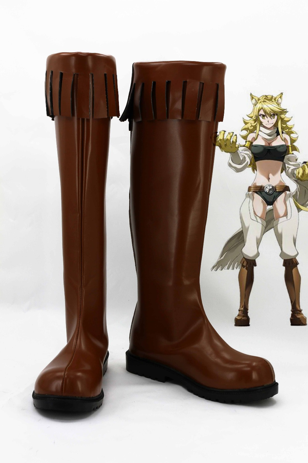 Фотография New male female costumes customize Akame ga Kill! COSPLAY customized shoes boots costumes
