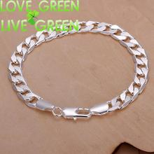 party accessories brand woman H246 Free Shipping Latest Women Classy Design  silver plated bracelet Factory Direct Sale