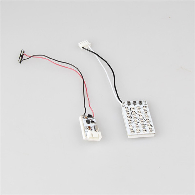 24 Lamp Bead Headlamp Reduction Voltage Module For DJI Phantom 3 For RC Quadcopter Spare Parts