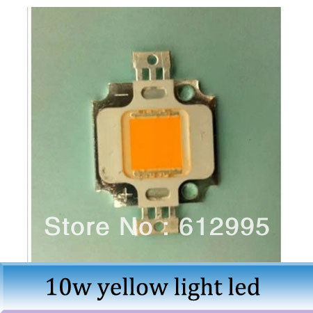 10pcs High power LED integrated light source 10W yellow light emitting diode 588-590NM<br><br>Aliexpress