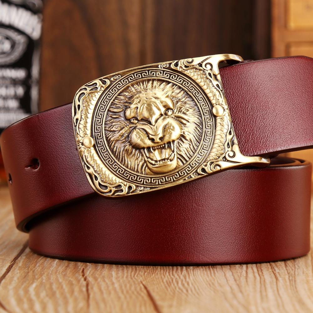 designer belts men high quality solid brass buckle mens belt luxury