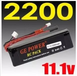 Regester free shipping!! GE power RC Transmitter Lipo Battery 11.1V 2200mAh 8C For 7 10 12E DEVO F12E JR Transmitter(China (Mainland))