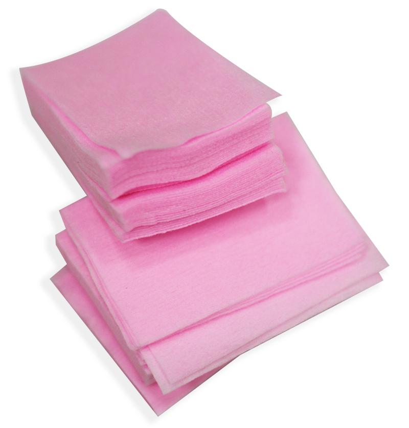 1048-100pcs Nail Art Wipes UV Gel Nail Polish Remover Cleaner Wipe Cotton Lint(China (Mainland))