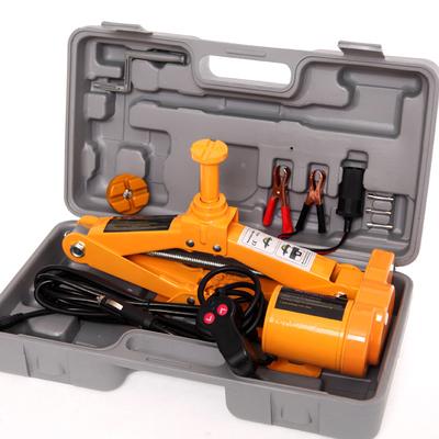 2TON 2-head sedan and SUV 12V auto electric hydraulic jack car lift jack tire repair tools toolkit jack(China (Mainland))
