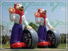 Giant Portable Advertising Item Inflatable Winnie Balloon For Outdoor Decration(China (Mainland))