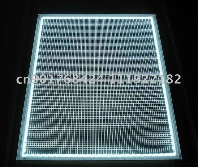 light guide panel , light up your mind for advertising decoration, any flat design can be make , color what you want