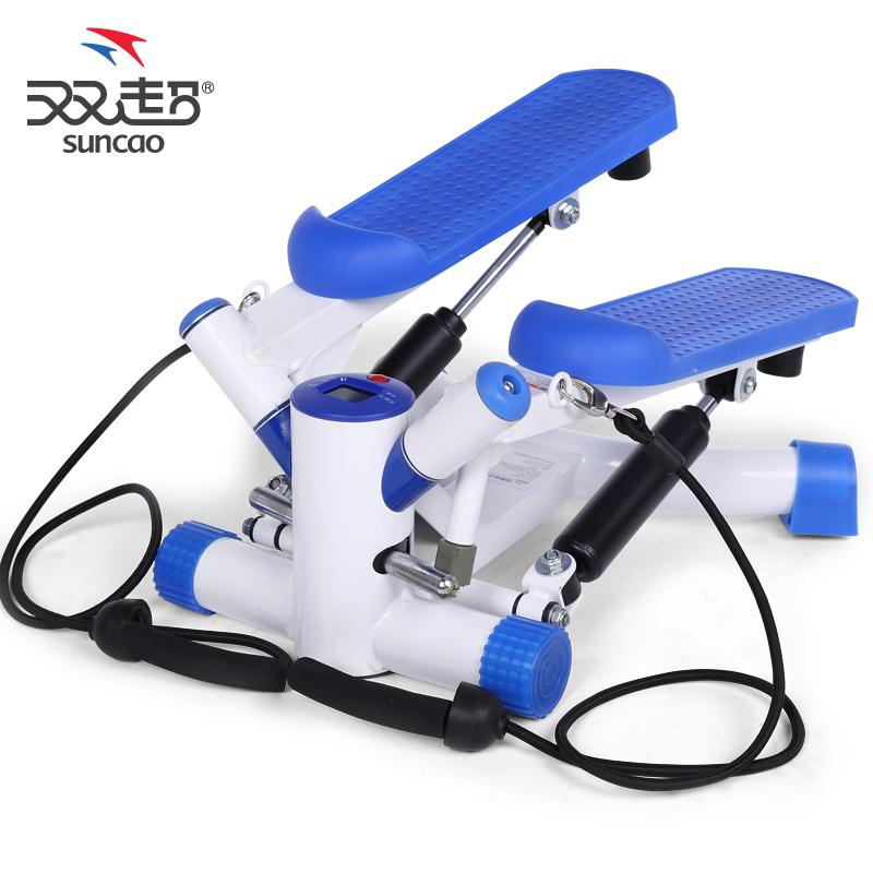 Home Exercise Equipment Stepper: 12 Mini Stepper Home Fitness Equipment Mute Multifunction