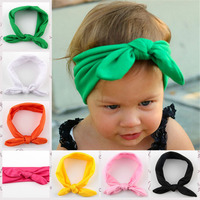 Latest Baby Girl Flower Headband Infant Kids Elastic Hair Band Children Hair Accessory Hair Bows  10pcs Free Shipping TS-14075