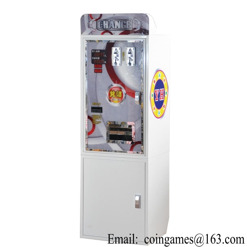 cheap change machine