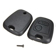 Remote Key Case Shell Citroen C1 C2 C3 C4 XSARA Picasso Peugeot 107 207 307 407 106 206 306 406 - Awesome For You Co.,Ltd. store