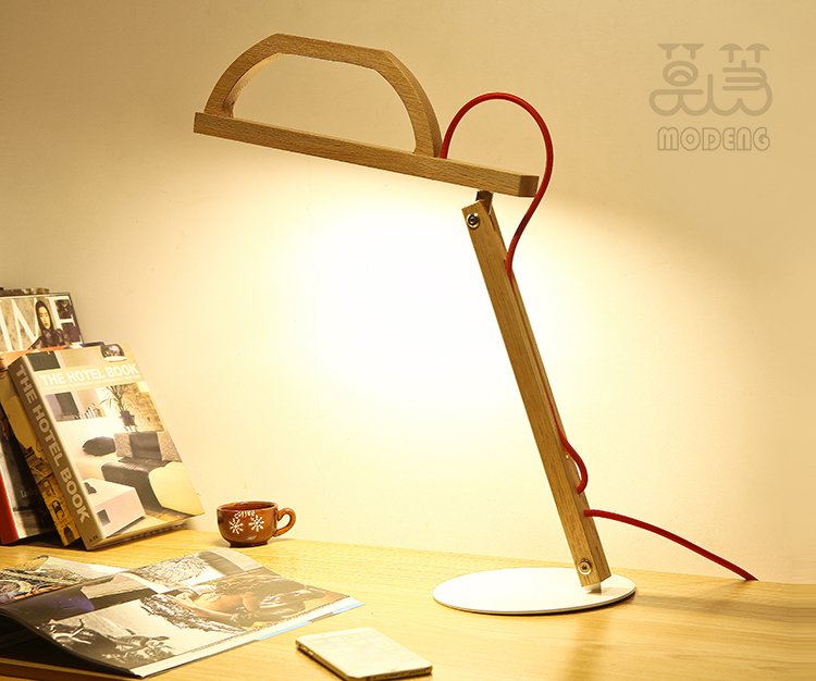 MONGDENG 10w warm white Eye-Care LED wooden Table Lamp (reading lamp) Flexible Touch-Sensitive Control with lifetime warranty(China (Mainland))