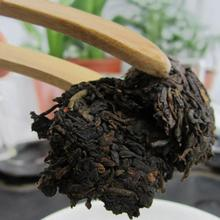 Yunnan puer tea,Old Tea Tree Materials Pu erh,100g Ripe Tuocha Tea +Secret Gift  ZH207