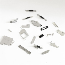 1 Set  100% Brand New Inner Accessories Inside Small Metal Parts Holder Bracket Shield Plate Set Kit 23Pcs for iPhone 5
