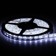 Buy 16.4FT 5M SMD 5050 Waterproof IP65 300LEDs White/WW/R/G/B LED Flash Strip Light LED Flexible Ribbon Lighting Strip 12V 60W for $10.16 in AliExpress store
