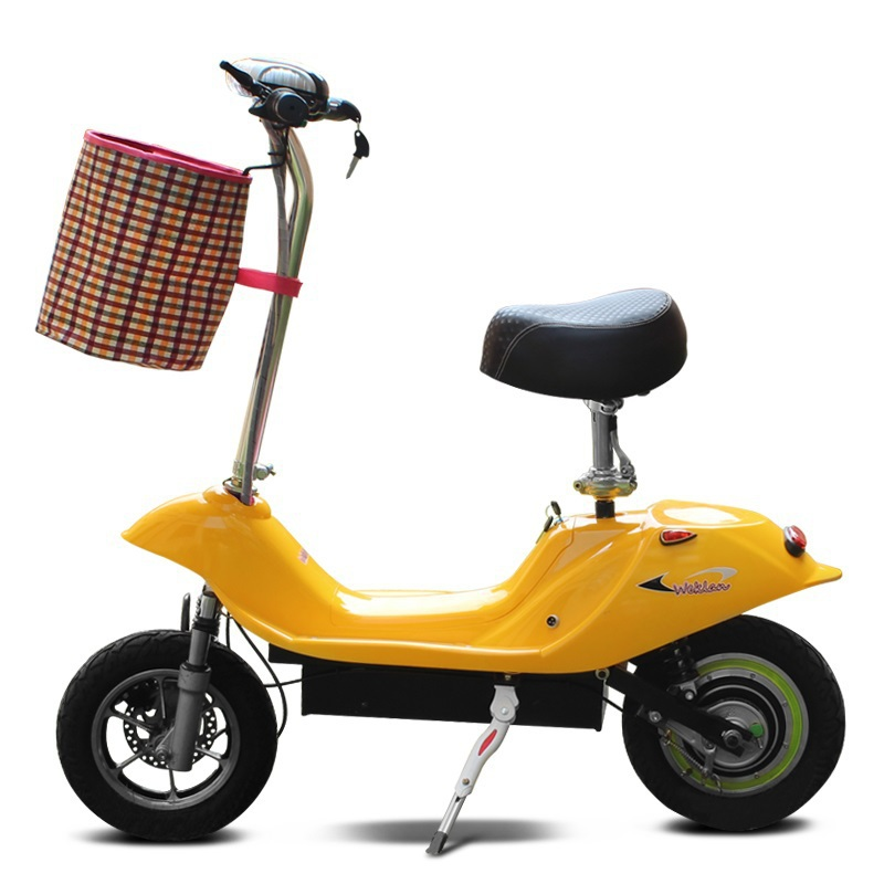 Small dolphin two wheel electric bicycle for women Portable electric vehicle 2 wheels E bike trotinette