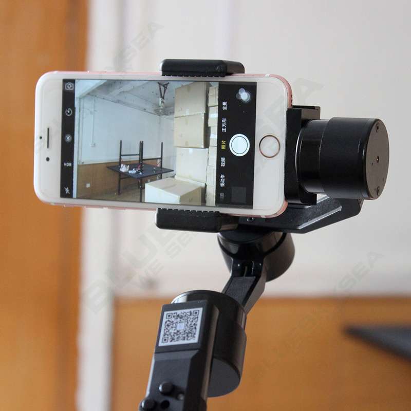 Free shipping!Xiaoji JJ JJ-2 3 Axis Brushless Smartphone Handheld Gimbal Stabilizer for Android IOS Smartphone